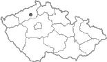 Mapa ČR - poloha obce Čížkovice
